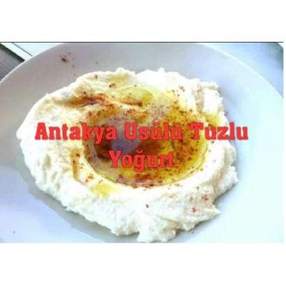 Hatay Usülü Tuzlu yoğurt...