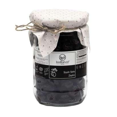 Siyah Sele Zeytin 600 GR